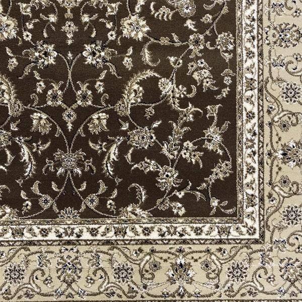 Класически килим – Класик 4174 Кафяв - детайл - 1
