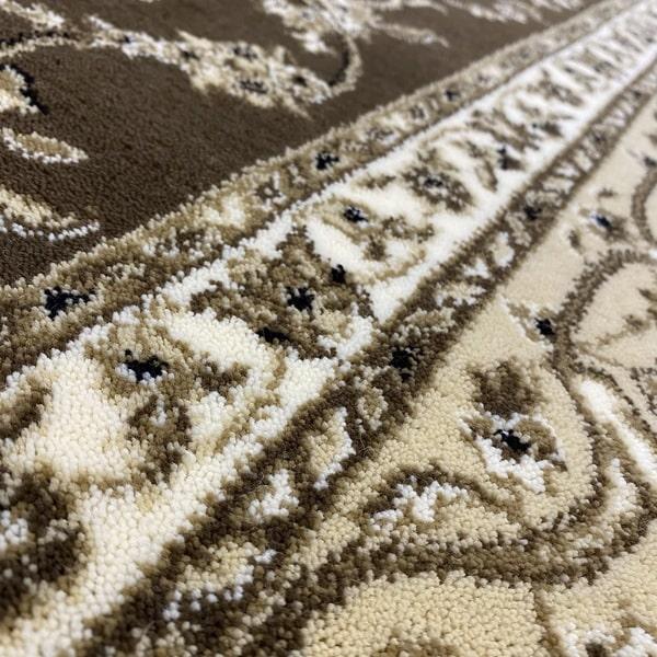 Класически килим – Класик 4174 Кафяв - детайл - 2