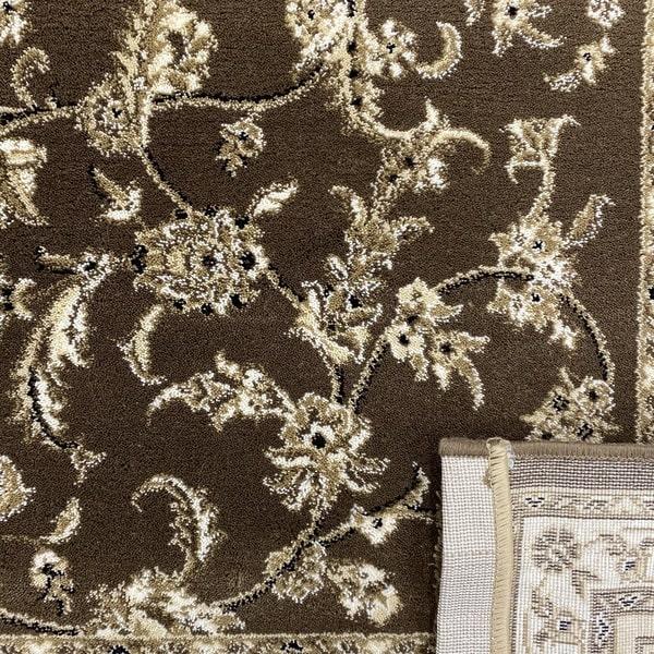 Класически килим – Класик 4174 Кафяв - детайл - 3