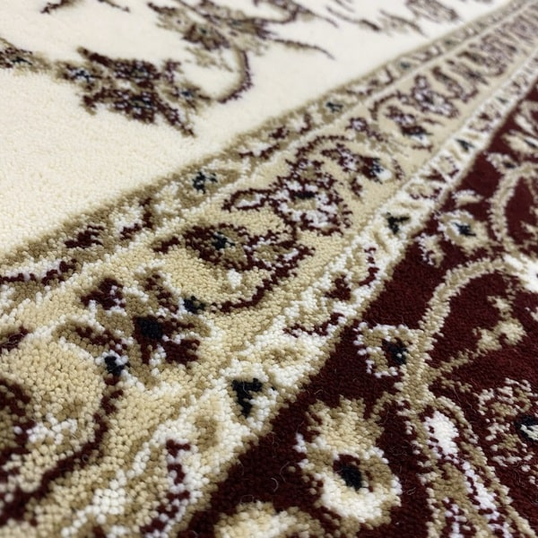 Класически килим – Класик 4174 Крем/Червен - детайл - 2