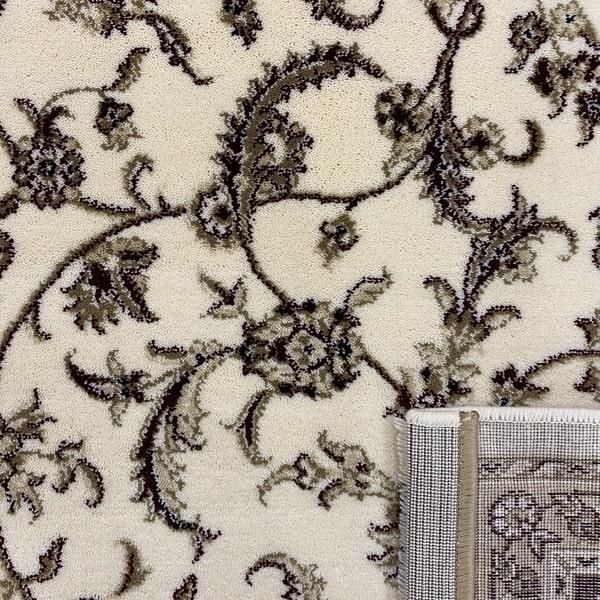 Класически килим – Класик 4174 Крем/Червен - детайл - 3