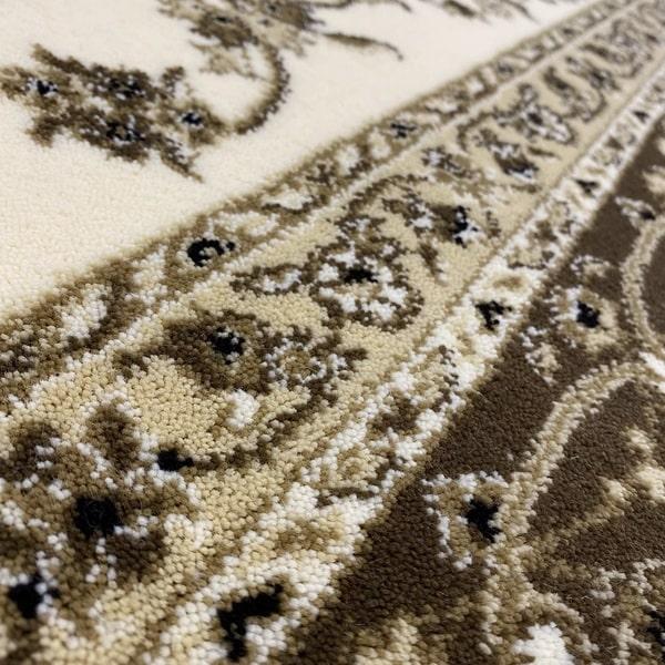 Класически килим – Класик 4174 Крем/Кафяв - детайл - 2
