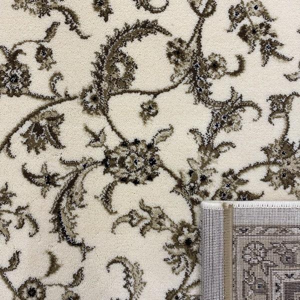 Класически килим – Класик 4174 Крем/Кафяв - детайл - 3