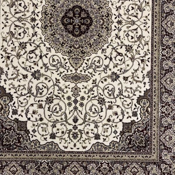 Класически килим – Класик 4176 Крем/Червен - детайл - 1