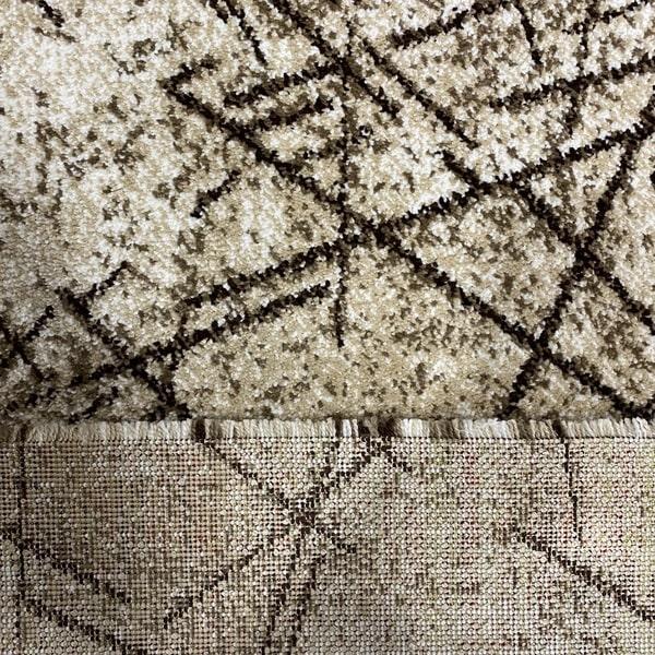 Модерна пътека - Ирис 901 Бежов - детайл - 3