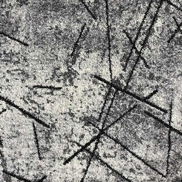 Модерна пътека - Ирис 901 Сив - детайл - 1