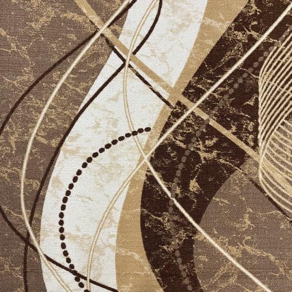 Мокетена пътека – Монреал Бежов - детайл - 1